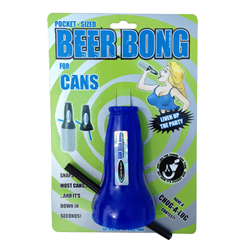 The Can Bong (Cardboard) Blue