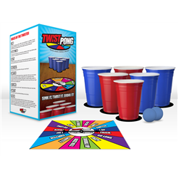 Twist Pong: Beer Pong With a Twist!
