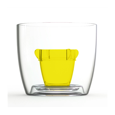 Bomber Jagerbomb Cups - Yellow (x10)