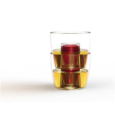 Bomber Jagerbomb Cups - Clear (x10)