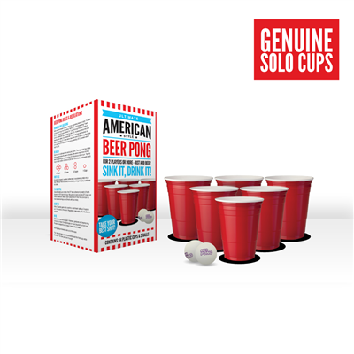 Ultimate American Style Beer Pong Set