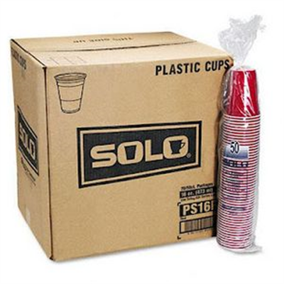 1,000 16oz Red Solo Cups